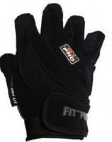 Перчатки для тяжелой атлетики Power System S1 Pro FP-03 Black L, фото 1