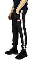 Серые мужские спортивные штаны с манжетами REEBOK , фото 1