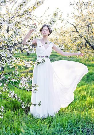 Вечернее платье со стразами, фото 2