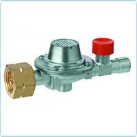 Регулятор давления газа 12 кг/час 1.5 бар с отсекающим клапаном при обрыве шланга