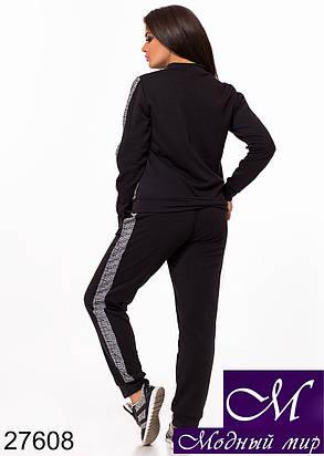 Модный спортивный костюм больших размеров (р. 48-50, 50-52, 52-54) арт. 27608, фото 2