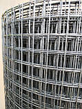 Металлическая сетка сварная 12х12 мм ячейка / 1х25 м рулон Ø 0.9 мм сечение проволоки, фото 2