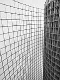 Металлическая сетка сварная 12х12 мм ячейка / 1х25 м рулон Ø 0.9 мм сечение проволоки, фото 6