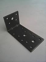 Уголок крепежный 40*120*40(2,0) с ребром жесткости
