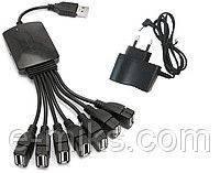 USB 2.0 хаб hub 7 портов разветвитель активный 007