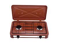 Плита настольная VILGRAND VGP 202 коричневая