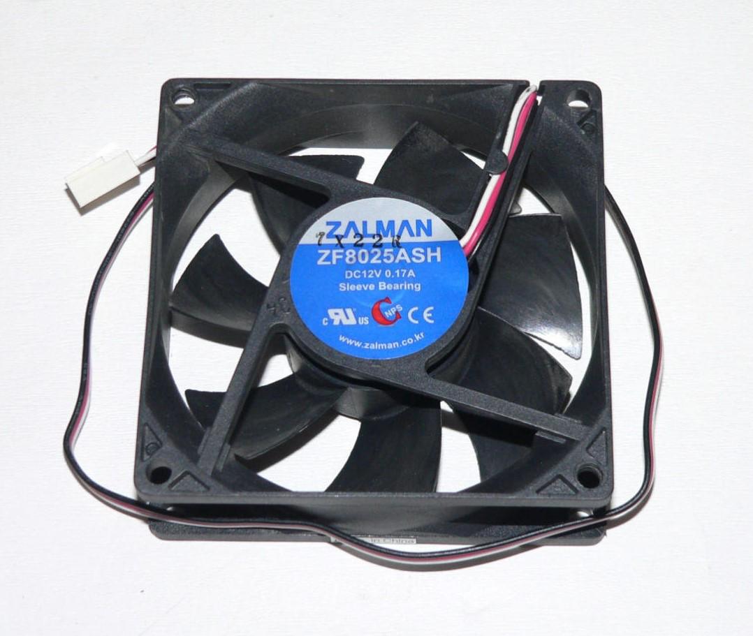 Вентилятор, кулер 80х80 для корпуса 3-pin