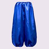 Синие шаровары на мальчика от 35 см - до 55 см , фото 3