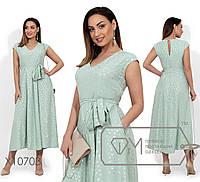 Платье-миди прямого кроя с серебряным напылением, V-образным вырезом, съемным поясом по отрезной, 4 цвета, фото 1
