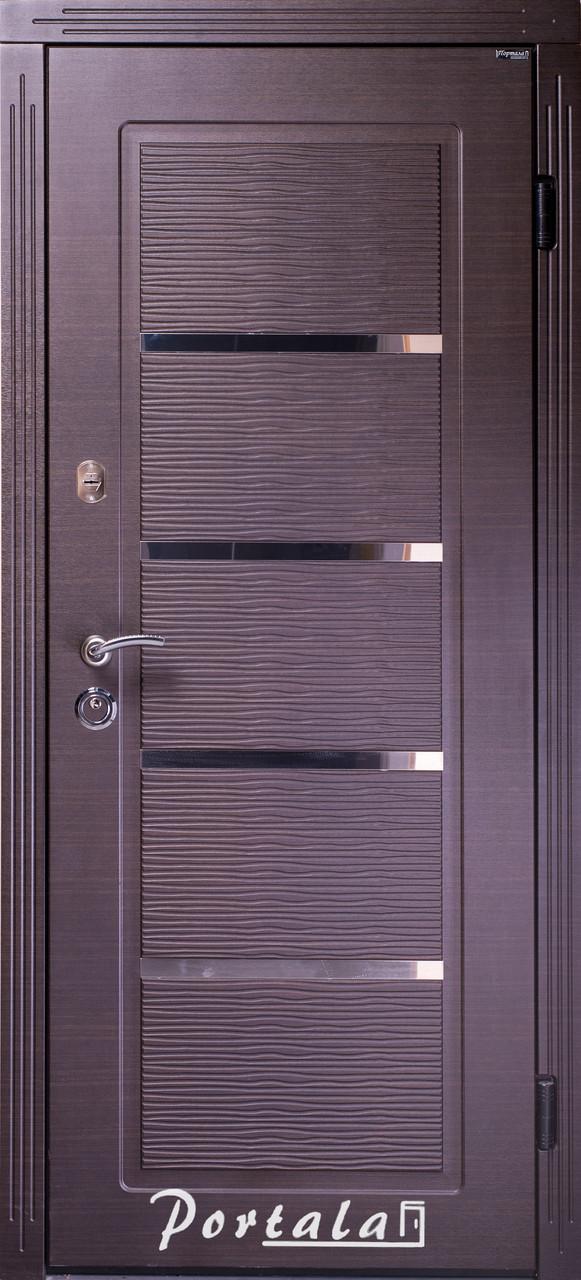 """Входная дверь для улицы """"Портала"""" (Люкс Vinorit) ― модель Верона 2"""