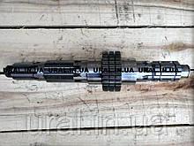 Вал вторичный УРАЛ 141-1701105 (пр-во КАМАЗ)
