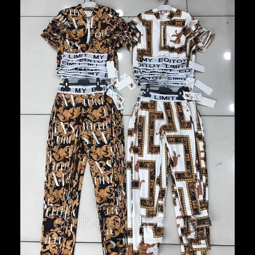 Детские модные костюмы для девочек оптом  ITALY