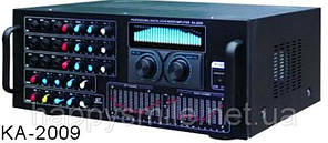Профессиональный цифровой усилитель-микшер с функцией КАРАОКЕ KA-2009