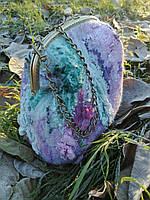 """Авторская валяная сумка """"Infinity""""+ браслет (нуно-войлок)  , фото 1"""