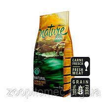 Беззерновой корм для собак Satisfaction Nature (Сатисфекшн Нейче) Dog Salmon холистик (лосось), 2 кг