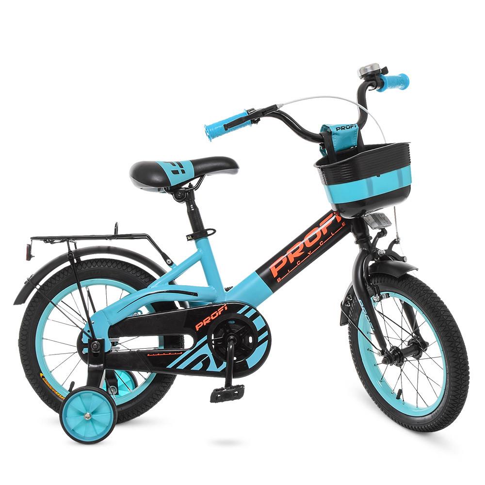 Велосипед детский PROF1 14д. W14115-8 Голубой