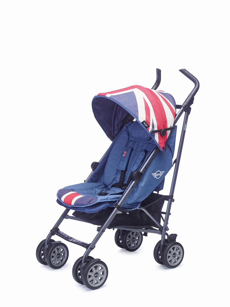 Прогулочная коляска, Mini Buggy Union Jack Vintage, Easywalker EMB10021