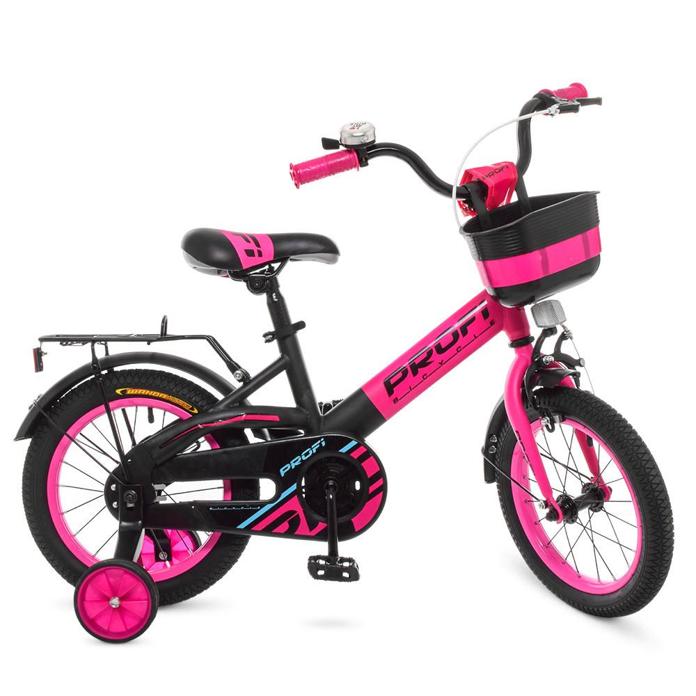 Велосипед детский PROF1 14д. W14115-7 Розовый