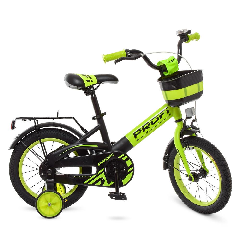 Велосипед детский PROF1 14д. W14115-6 Салатовый