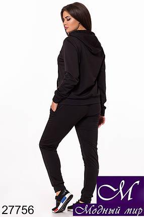 Спортивный женский костюм большие размеры (р. 48-50, 50-52, 52-54) арт. 27756, фото 2