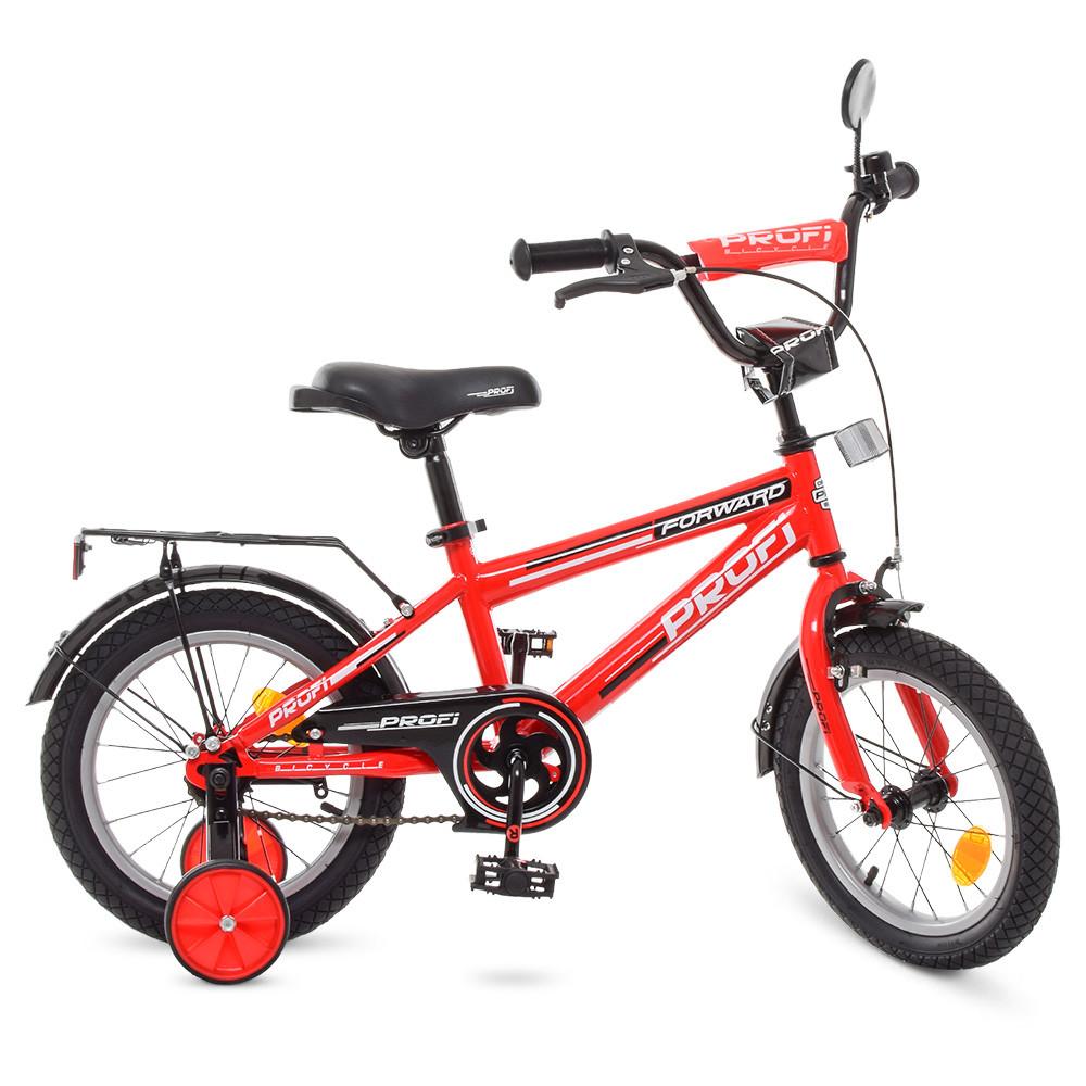 Велосипед дитячий PROF1 14д. T1475 Червоний