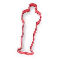 Вырубка для пряников Оскар контур 10*3,5 см (3D)