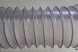 Вентиляційний гнучкий повітропровід від д.60*0,5мм до д.250мм, гофрований рукав для видалення тирси, фото 4