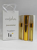 Набор мини духов jeanmishel Love J'Adore 45ml для женщин
