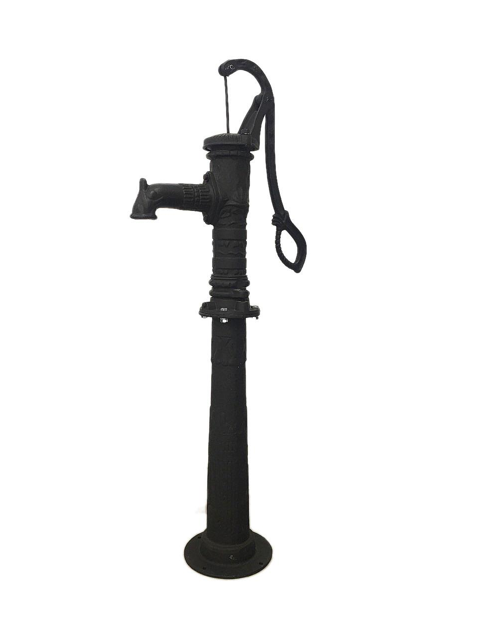 Ручний насос для води з підставкою