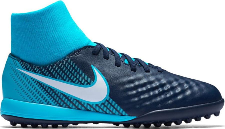 Детские сороконожки Nike Jr Magistax Onda II DF TF 917782 414 - Оригинал