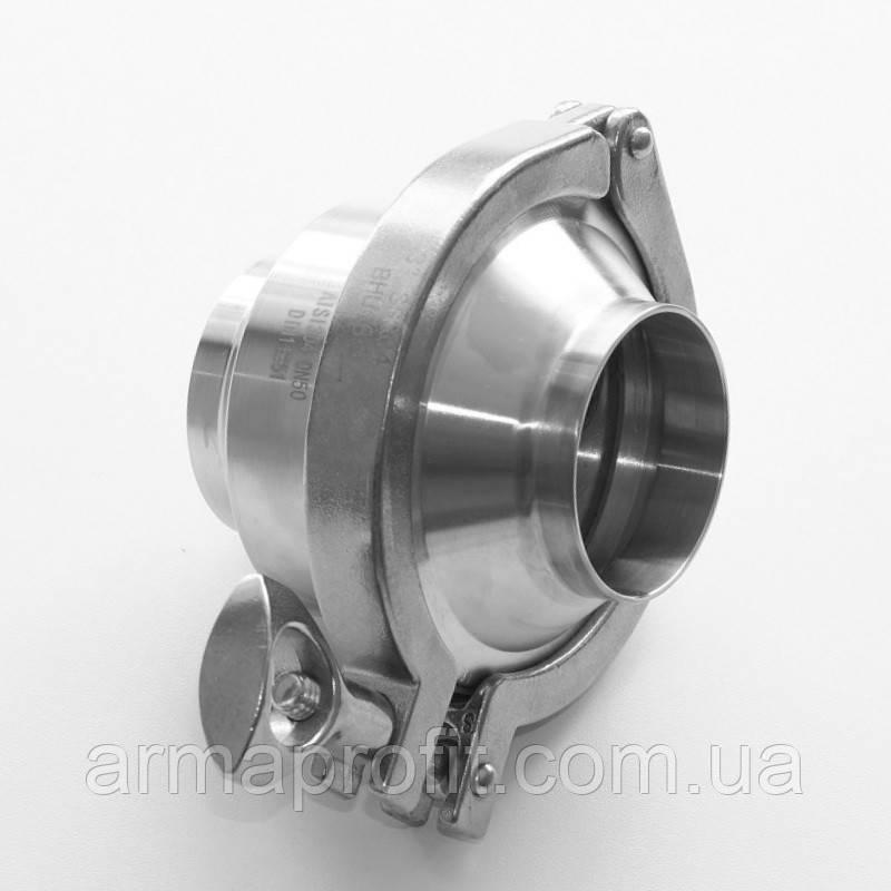 Клапан обратный нержавеющий AISI 304 DN65 DIN11851 сварка-сварка