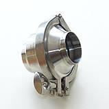 Клапан обратный нержавеющий AISI 304 DN65 DIN11851 сварка-сварка, фото 5