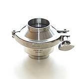 Клапан обратный нержавеющий AISI 304 DN65 DIN11851 сварка-сварка, фото 9