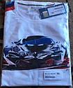 Оригинальная мужская футболка BMW Motorsport Motion T-Shirt, Men, White (80142446421), фото 7