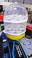 Яйцеварка электрическая, двухъярусная для варки яиц без воды Egg Cooker., фото 3
