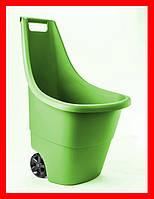 Садовая тележка Keter Easy Go Breeze 50 л зеленая