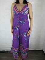 Сарафан женский в пол 1145 фиолетовый