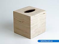 Салфетница куб