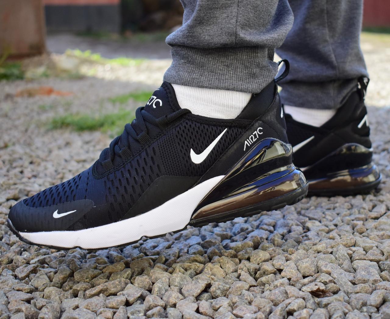 Кросівки чоловічі Nike Air Max 270 black/white