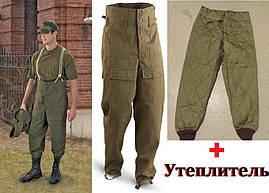 БрюкивоенныеМ 85 сутеплителем,оригиналЧехия.Штанытактические,рабочие брюки,рабочая одежда..