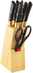 Набор ножей 8 пр. в колоде Affile Wellberg WB-5124