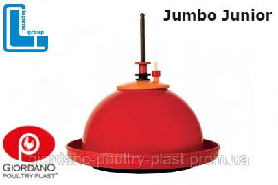 Автоматическая колокольная поилка для цыплят, кур Jumbo Junior