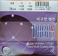 Линзы Dagas 1.67 AS HMC