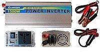 Преобразователь напряжения 1500W (инвертор 12В/220В 1500Вт)