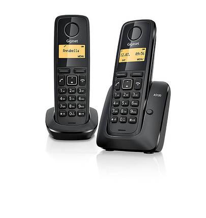 Телефон беспроводной Gigaset A120 Black- Б/У, фото 2