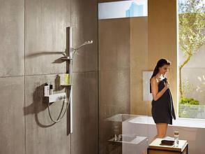 ShowerTablet 350 Термостат для душа, на 1 пользователь хром, белый, фото 3