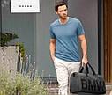 Оригинальная мужская футболка BMW V-Neck T-Shirt, Men, Steel Blue (80142411072), фото 3