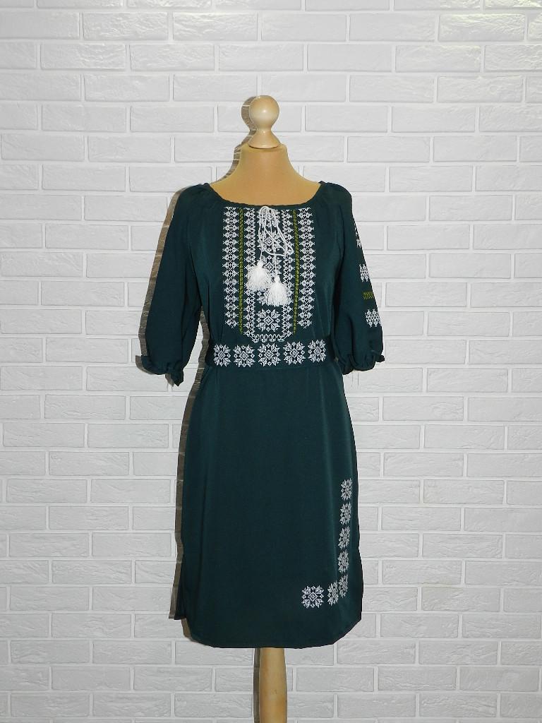 Платье-вышиванка Снежинка 48 р.