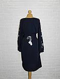 Платье-вышиванка Снежинки 56 р., фото 3