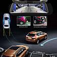 Видеорегистратор-зеркало Anytek T90 полный экран 9.88 двойной объектив, регистратор в авто DVR, Подарок, фото 10
